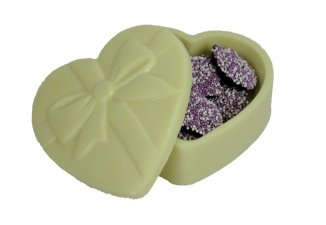 Heart Box with Nonpareils