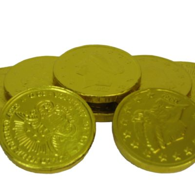 Foiled Coins, Milk Chocolate