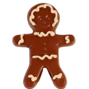 Gingerbread Man Pop, Milk Chocolate