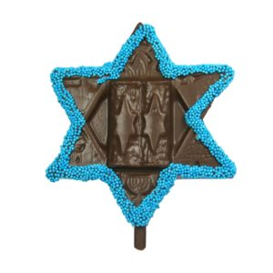 Star of David Pop, Milk Chocolate