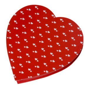 Hearts on Heart Box, Assorted Chocolates