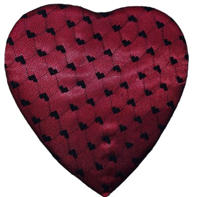 Black Lace Heart, 14 Piece Box, Assorted Chocolates