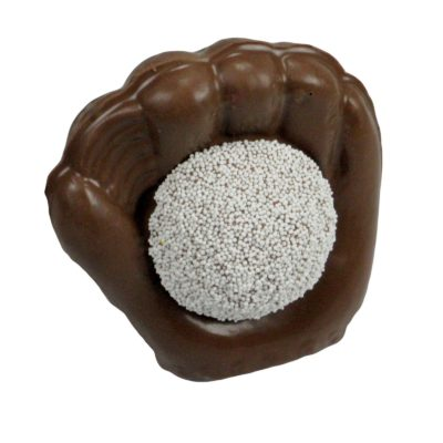 Baseball Mitt, Milk Chocolate