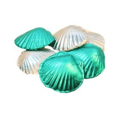 Chocolate Seashells, Foiled