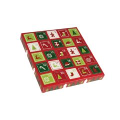Red Advent Box