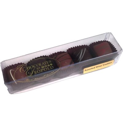 Wine Truffles, 5 Piece Box