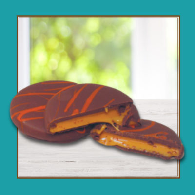 Orange Pattie, Milk Chocolate