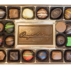 Assorted Chocolates with Congratulations Bar