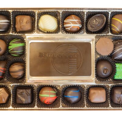 Assorted Chocolates with Your Custom Bar
