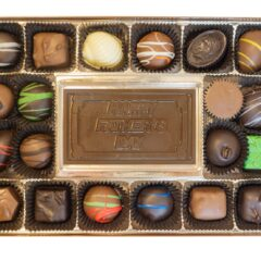 Assorted Chocolates with Happy Father's Day Bar